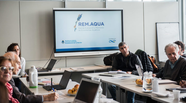 Se realizó un taller de la Red de Evaluación y Monitoreo de Ecosistemas Acuáticos