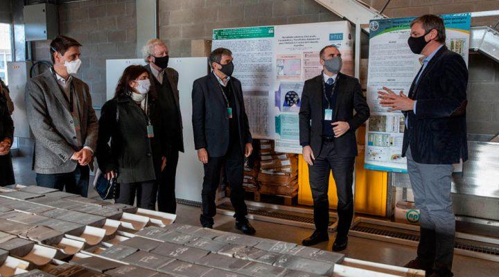 Franchi junto a Salvarezza y Guzmán visitaron Y-TEC