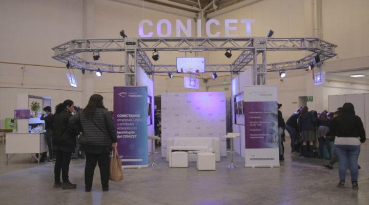 El CONICET hizo una fuerte apuesta en la 6º edición de la Expo Industrial, Comercial e Innovación Tecnológica de Comodoro Rivadavia
