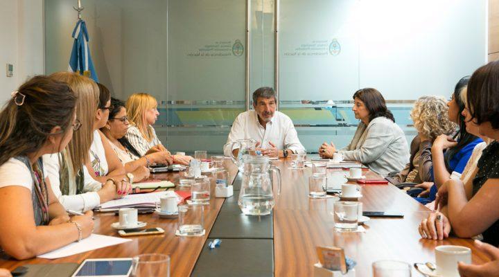 Salvarezza y Franchi recibieron a organización multisectorial de mujeres