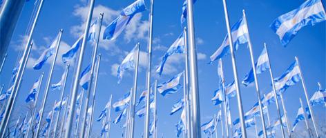 Banderas argentinas