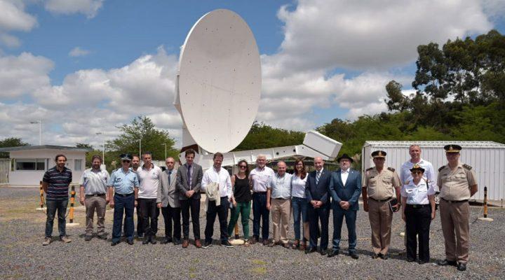 Nuevas autoridades del Ministerio de Defensa visitaron el Observatorio AGGO del CONICET