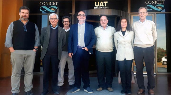 Investigadores de la Unión Europea visitaron el CCT CONICET Bahía Blanca