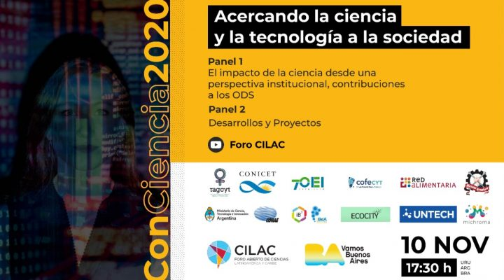 El CONICET participa en ConCiencia 2020
