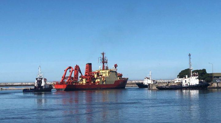 El Buque Austral del CONICET zarpó en una nueva campaña oceanográfica