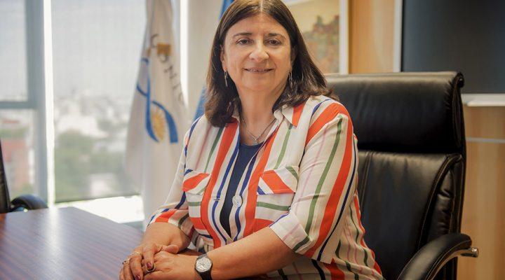 Ana María Franchi was appointed as president of CONICET