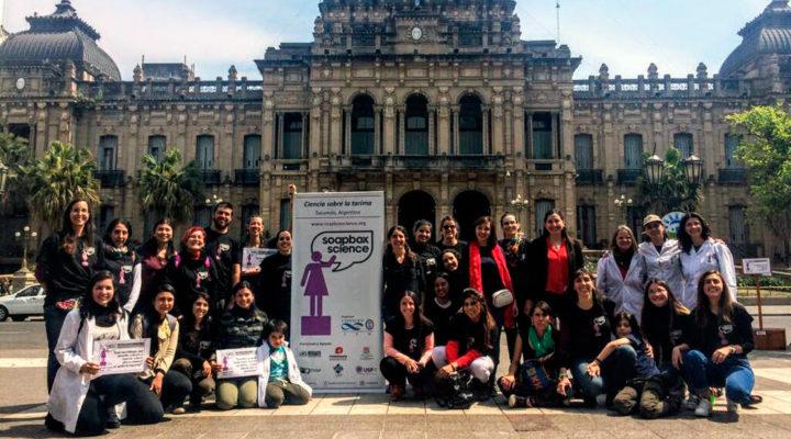 """""""Soapbox science"""", un encuentro público para visibilizar el rol de la mujer en la ciencia"""