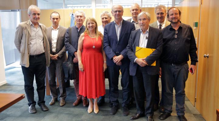 El CONICET recibió a la Academia Nacional de Medicina de Francia