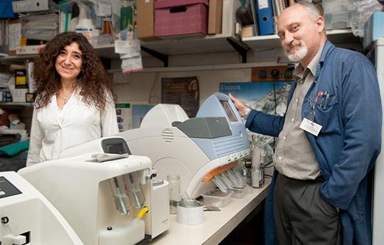 Los investigadores Carlos Pirola y Silvia Sookoian