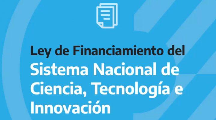 El Senado convirtió en ley el proyecto de Financiamiento del Sistema Nacional de Ciencia, Tecnología e Innovación