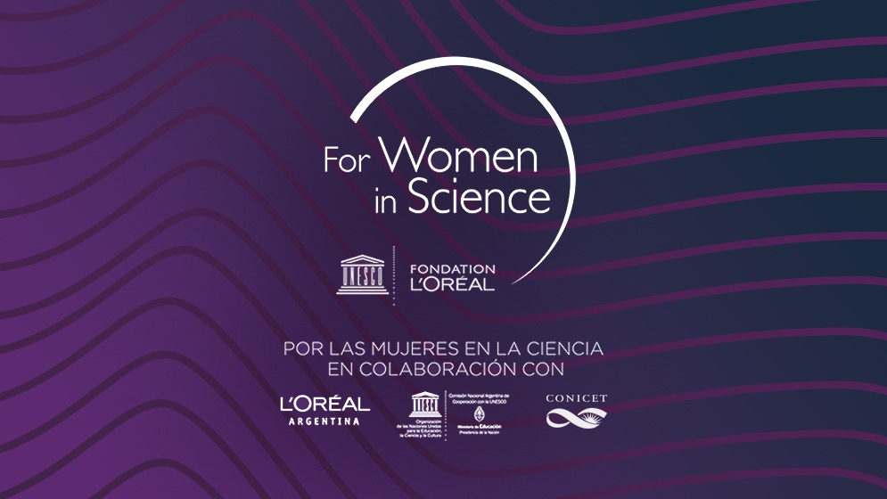 """Se prorroga hasta el 6/8 inclusive la convocatoria del Premio Nacional L'Oréal-UNESCO """"Por las Mujeres en la Ciencia"""" en colaboración con el CONICET"""